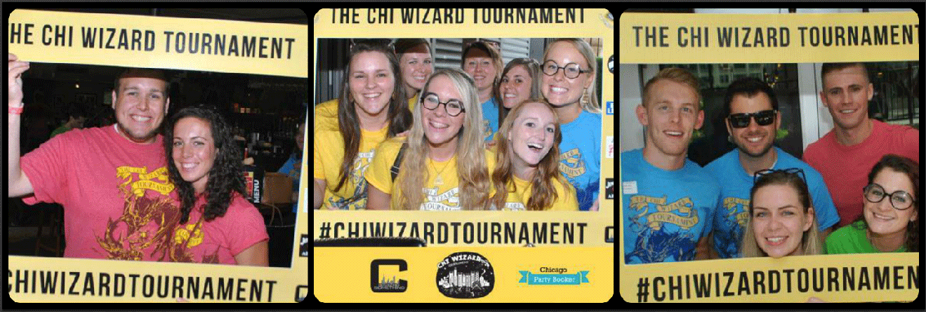 Chi Wizard Tournament Picture Collage