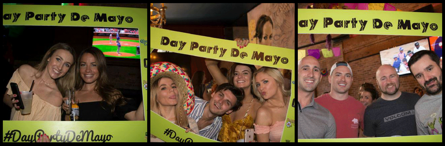 Cinco de Mayo Day Party De Mayo Party Picture Collage