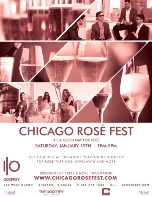 Chicago Rosé Fest - Tickets Include Four Hours of Rosé Tastings, Giveaways & More! There will be over a dozen different Rosé varieties to try!