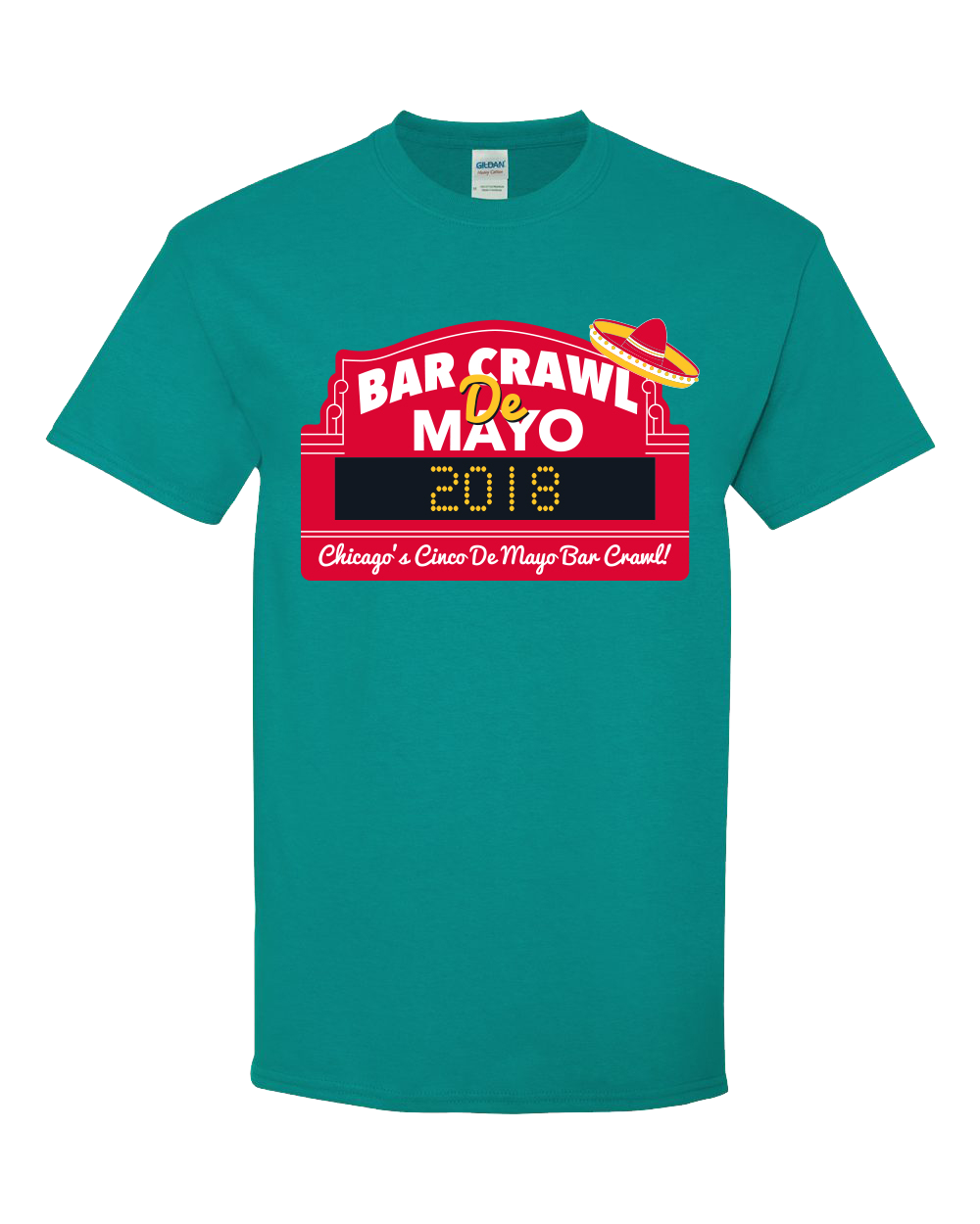 Bar Crawl de Mayo T-Shirt