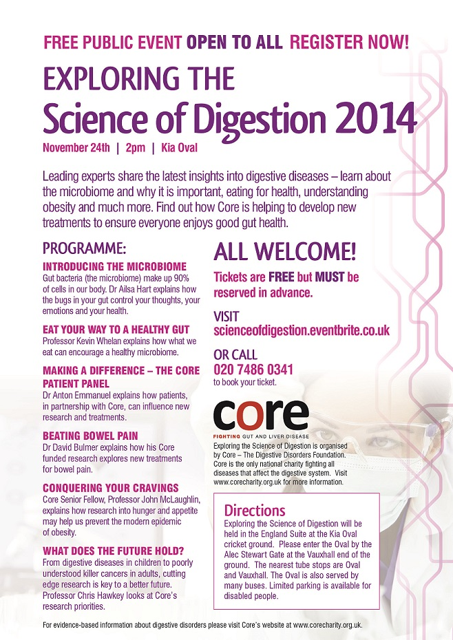 Science of Digestion 2014