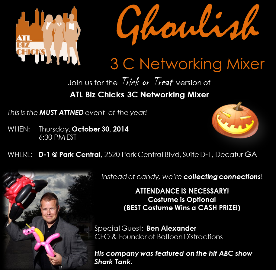 Ghoulish Networking Oct 2014