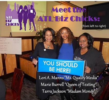 ATL Biz Chicks Jan 2014