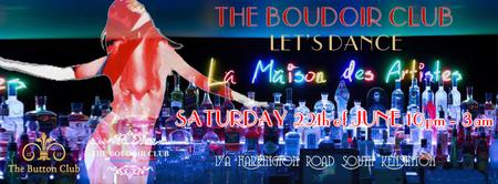 The Boudoir Club At La Maison Des Artistes