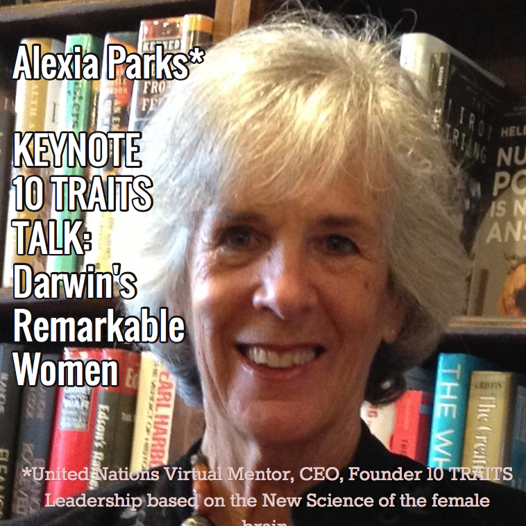 Keynote: Alexia Parks, Darwin's Remarkable Women
