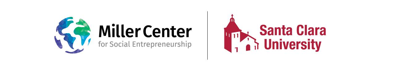 Miller Center and Santa Clara University logos