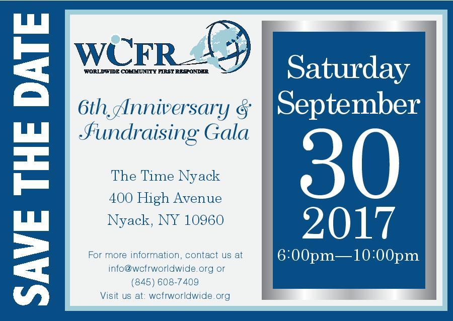 WCFR 2017 Gala