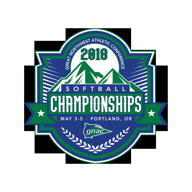 2018 GNAC Championship Softball Logo