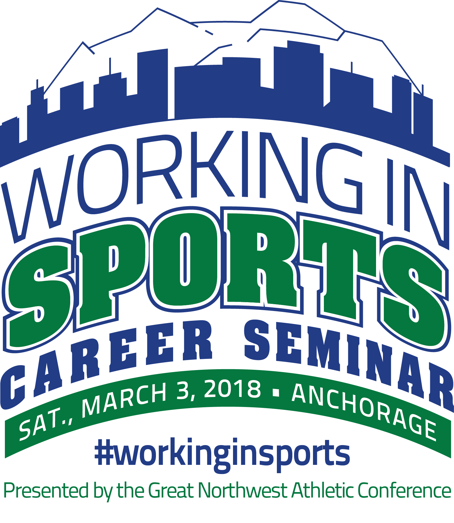Working in Sports Career Seminar Logo