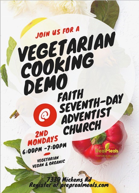 Vegetarian Cooking Demo RealMeals