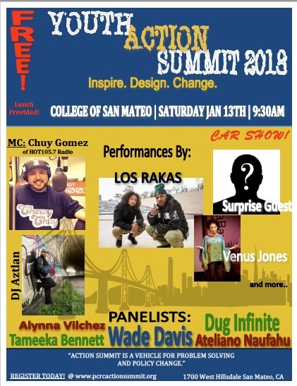 Youth Action Summit Flier