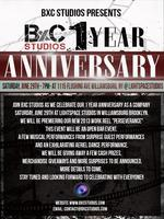 BxCStudios 1 YEAR ANNIVERSARY CELEBRATION PARTY