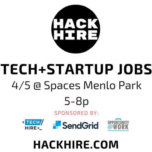 hackhire techhire tech jobs silicon valley menlo park spaces