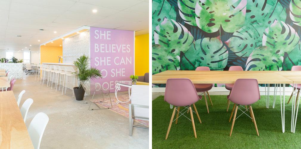 Make Lemonade co-working space