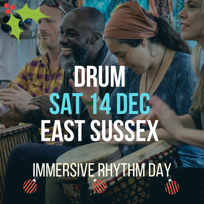 Immersive Rhythm Day Flier 14 Dec