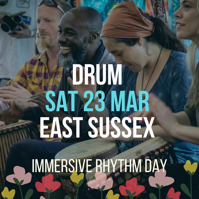 Immersive Rhythm Flier 23 March 2019