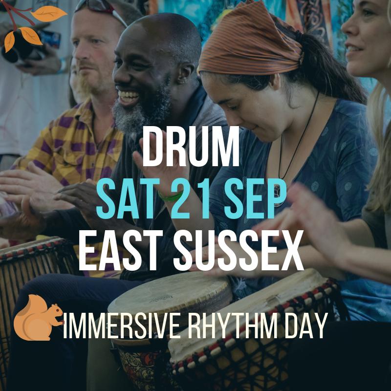 Immersive Rhythm Day Flier 21 Sep