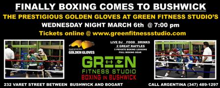 Boxing banner