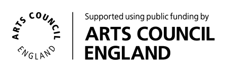 Suported using public funding by Arts Council England