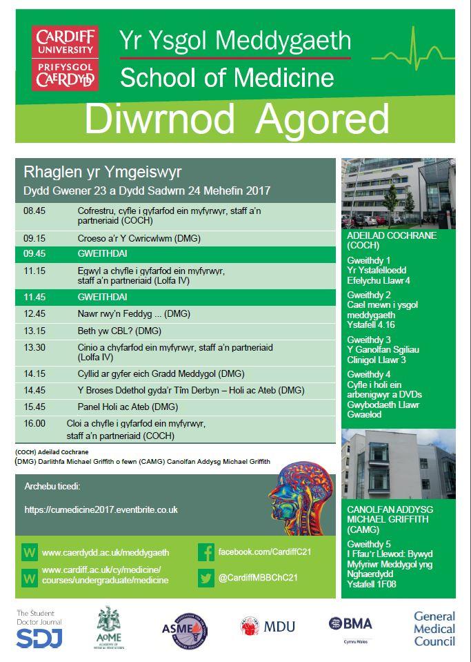 Student Programme, Cymraeg