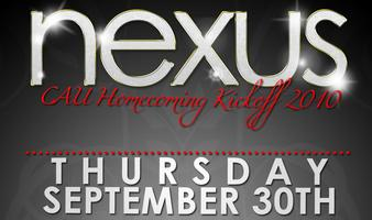 NEXUS: CAU HOMECOMING KICKOFF 2010 @ HAVANA CLUB