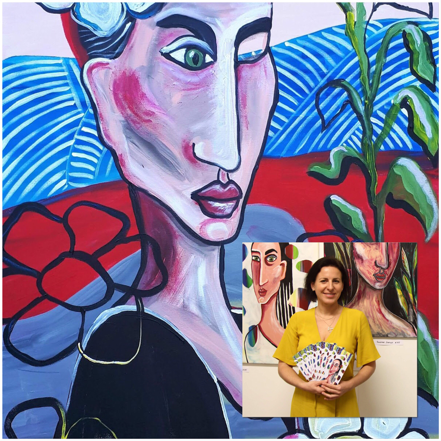 Dorota Demendecka - For The Love of Art Group Exhibition