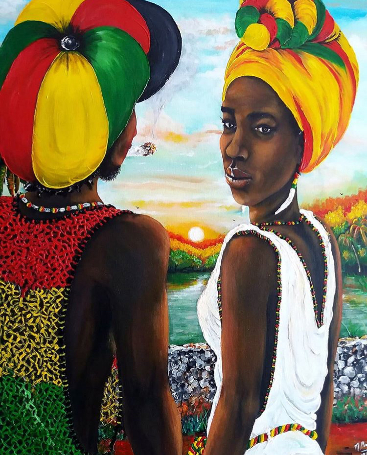 Beauty & Pride  Solo exhibition with artist Nasha Bradshaw