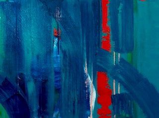 Live Art Saturday with abstract artist Clare Martin