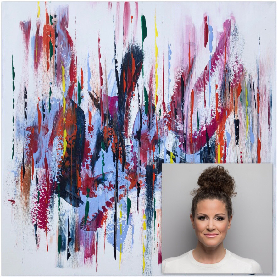 Vicky Paul - Abstract Art Group Exhibition