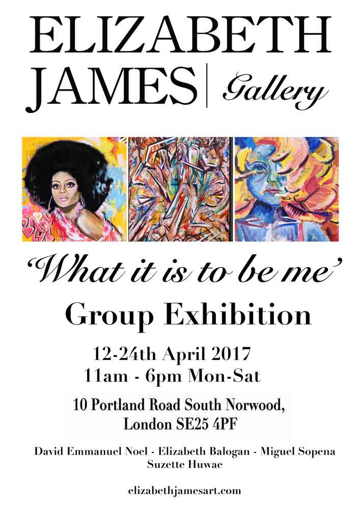 What it is to be me - Elizabeth James Gallery