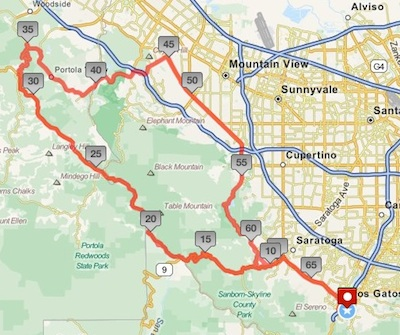New 100K Route for Jill's Ride for Hope 2012