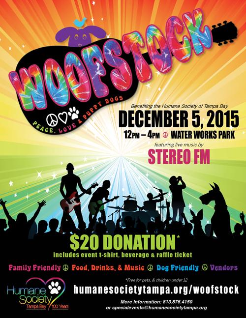 Woofstock Flyer 2015