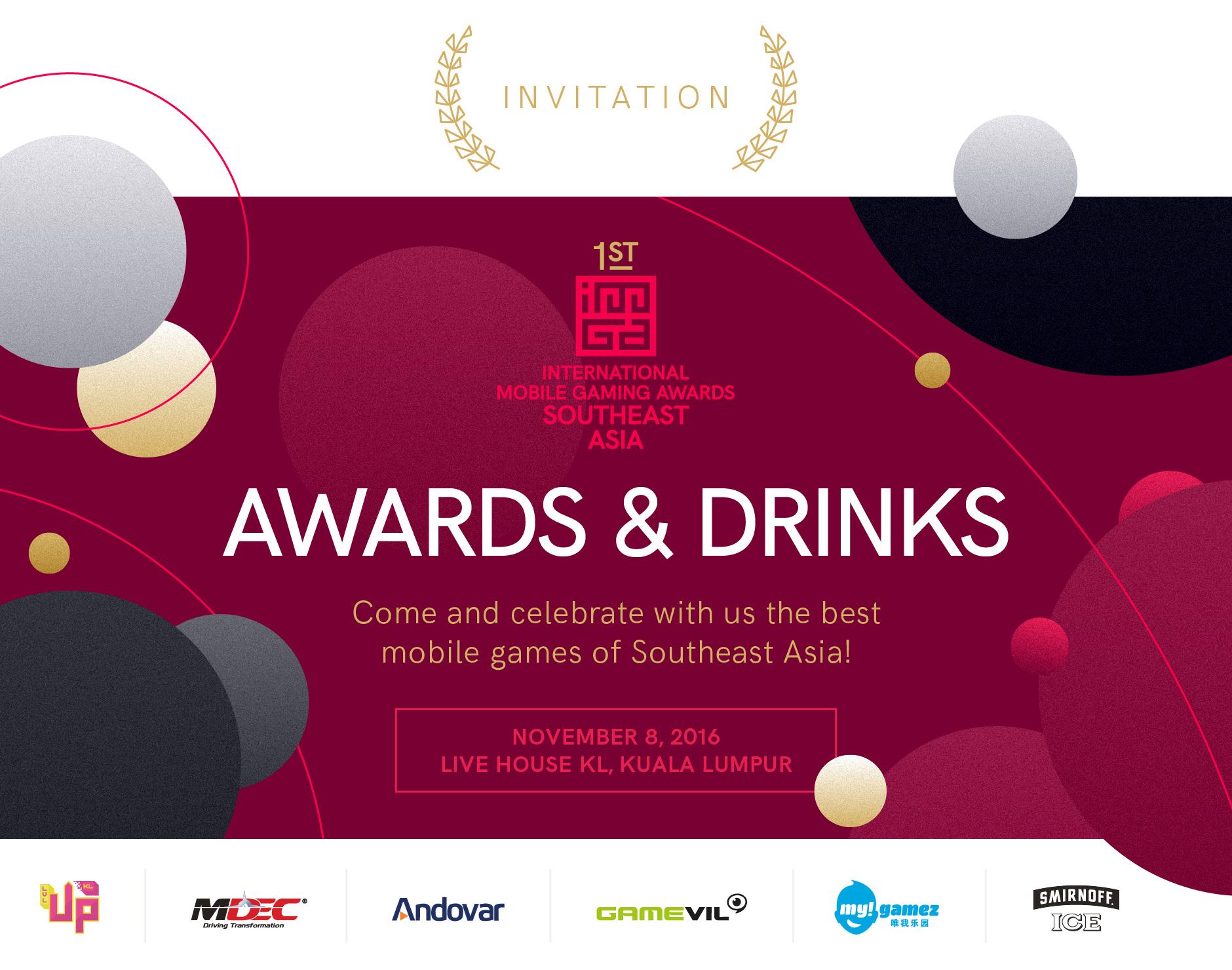 IMGA SEA invitation KL November 8th, LOL