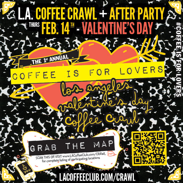 LA Coffee Crawl Flyer