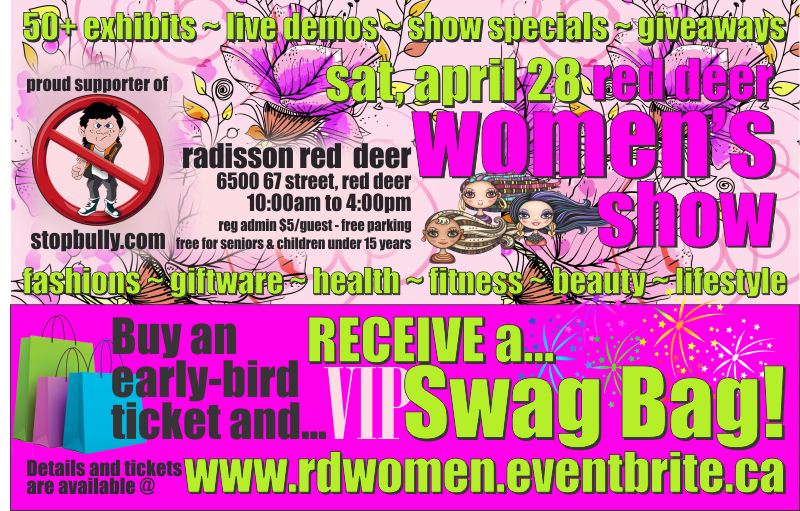Red Deer Women's Show VIP Swag Bag