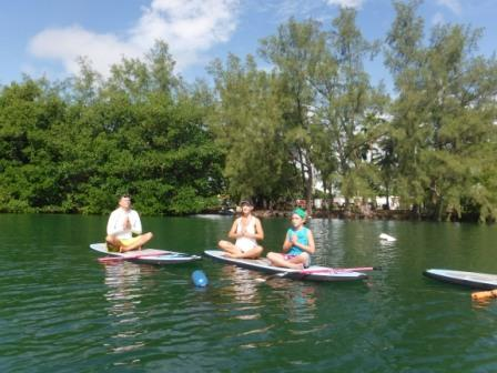 SUP Yoga Family at VKOC