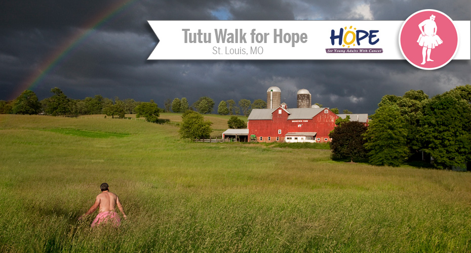 Tutu Walks for Hope in St. Louis
