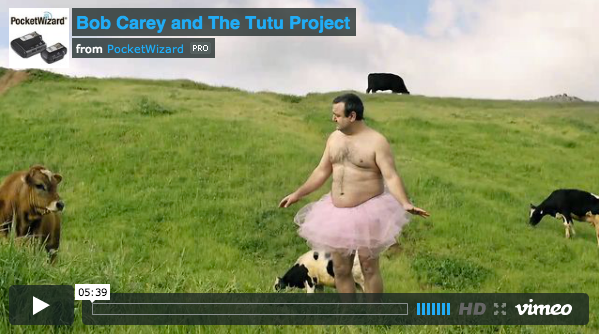 PocketWizard and The Tutu Project