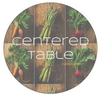 centered table