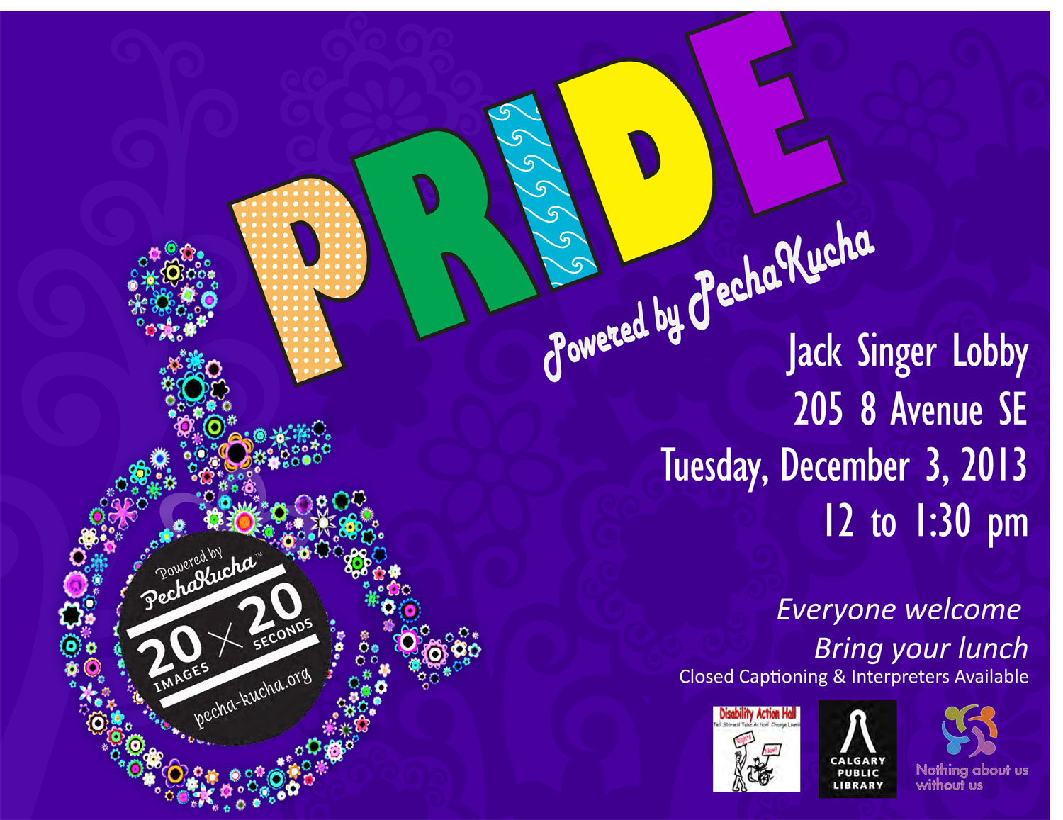 PRIDE: Powered by PechaKucha