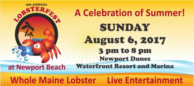 2017 Lobsterfest at Newport Beach