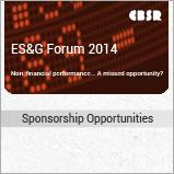 ES&G Forum 2014 sponsorship document