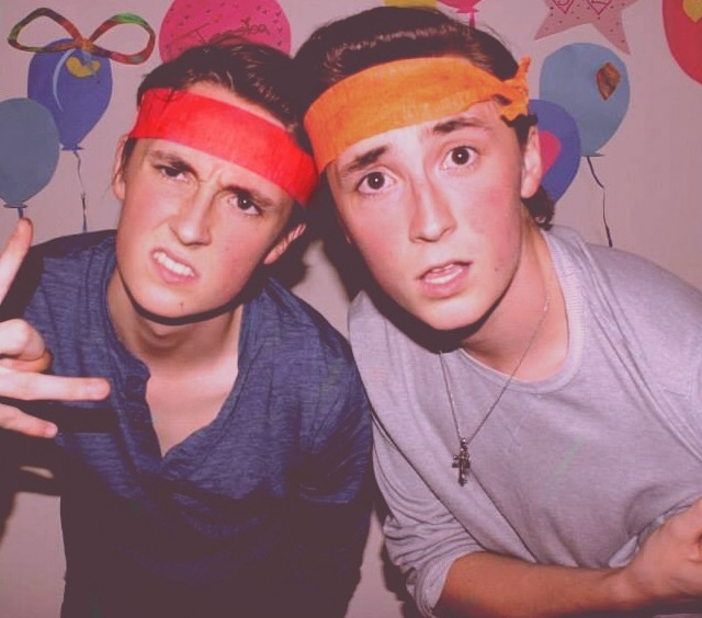 Trevor and Austin