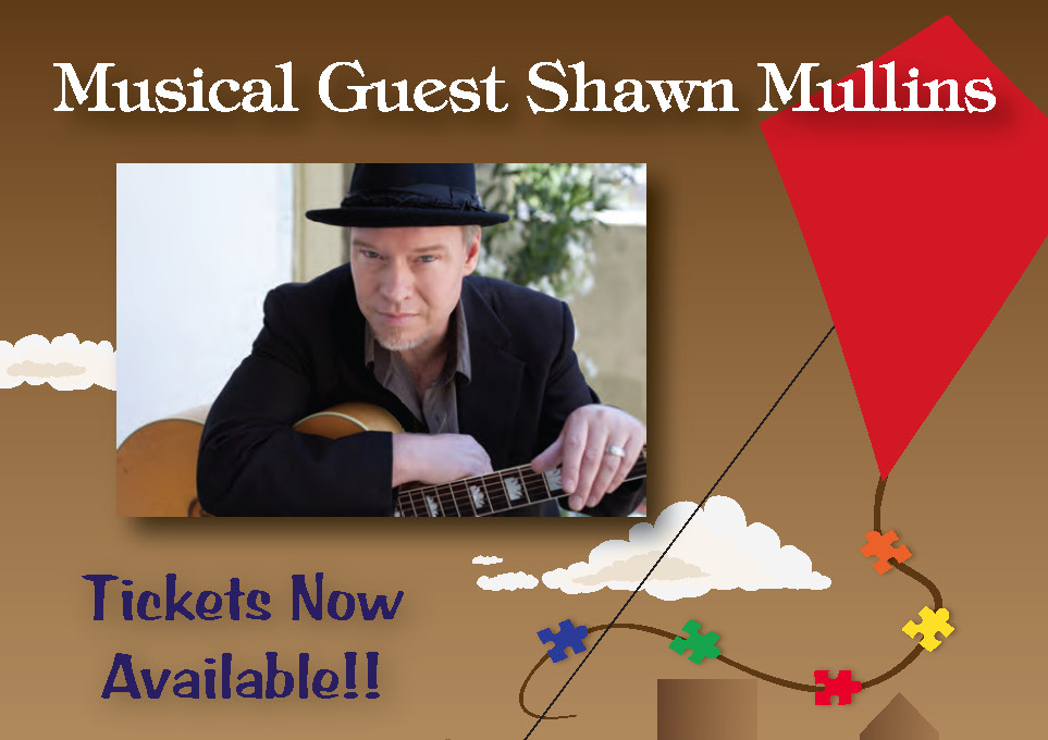 An Evening for Autism – featuring Shawn Mullins in concert