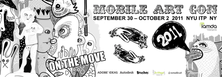 """On the Move"" MobileArtCon 2011"