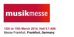 Contact us for free tickets to Musik Messe