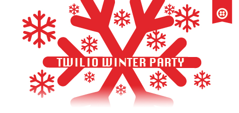 Twilio Winter Party Logo 2015