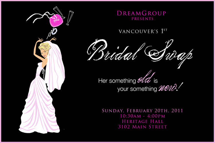 Vancouver's 1st Bridal Swap