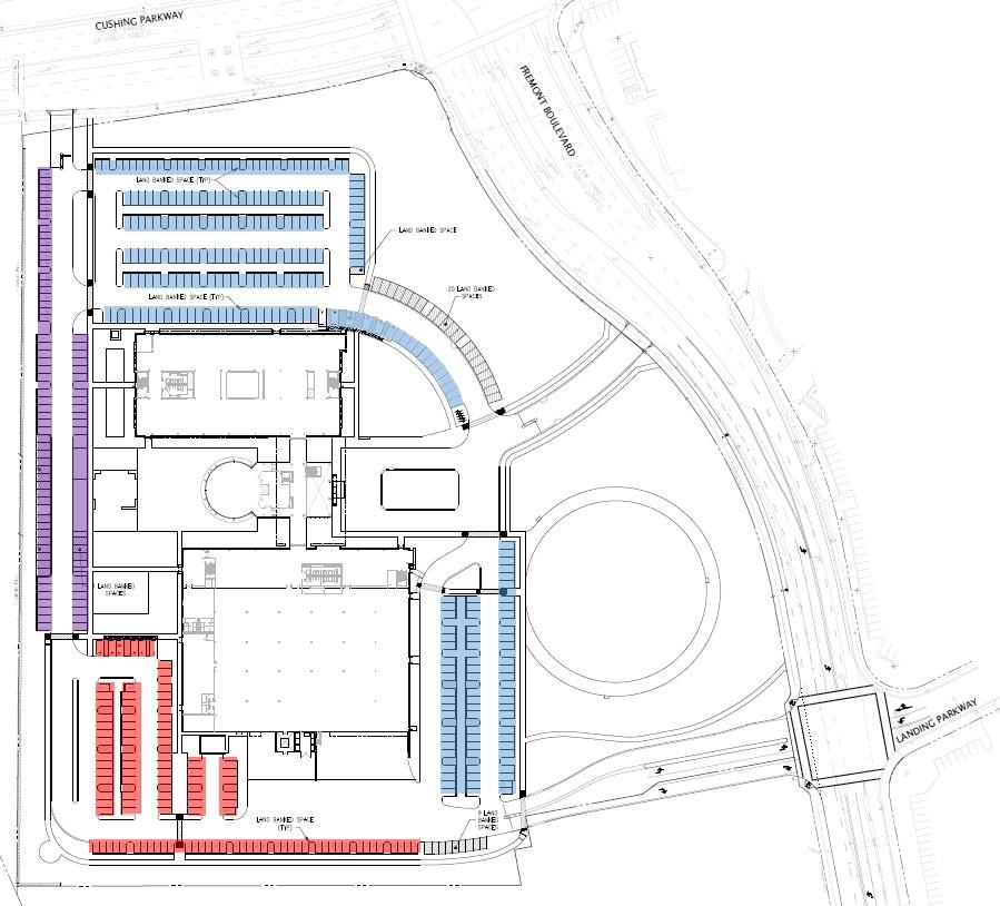 Delta Parking Map