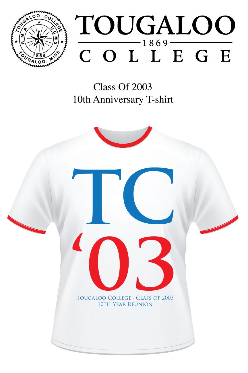 Class of 2003 tshirt